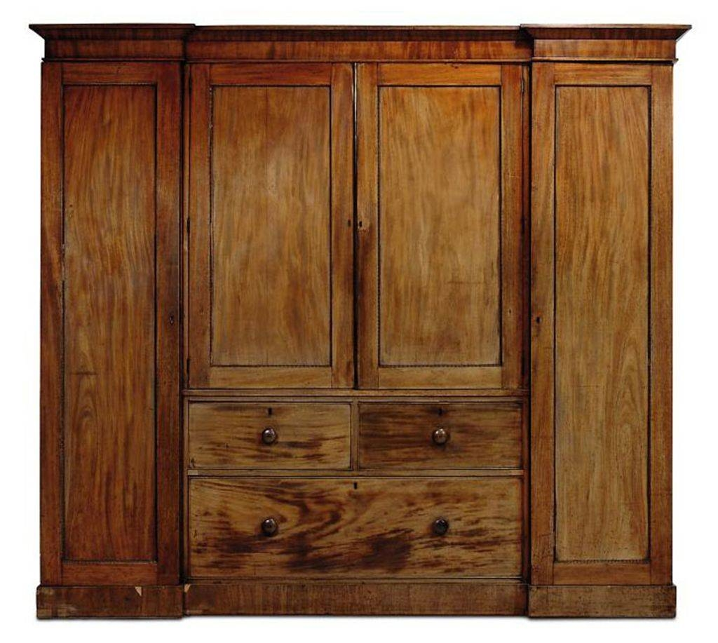 A William Iv Mahogany Breakfront Wardrobe | Second Quarter 19Th within Mahogany Breakfront Wardrobe (Image 2 of 30)