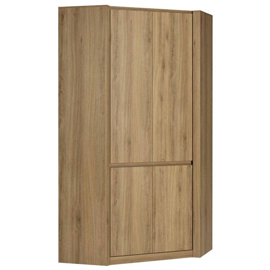 Abdabs Furniture - Hobby Oak Effect Corner Wardrobe intended for Oak Corner Wardrobes (Image 1 of 15)