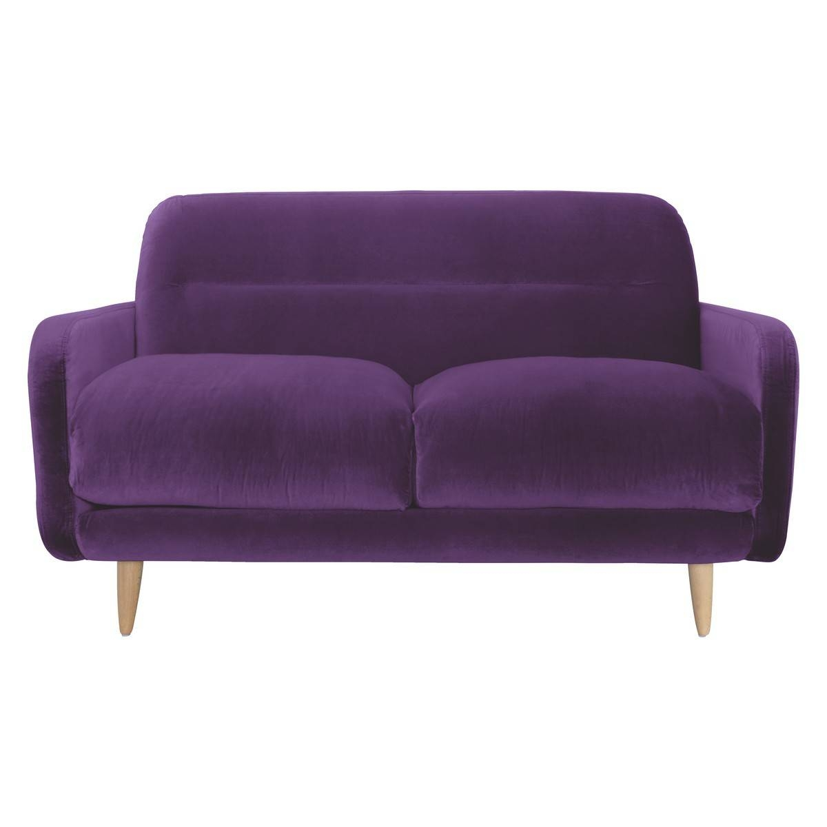 30 best collection of velvet purple sofas. Black Bedroom Furniture Sets. Home Design Ideas