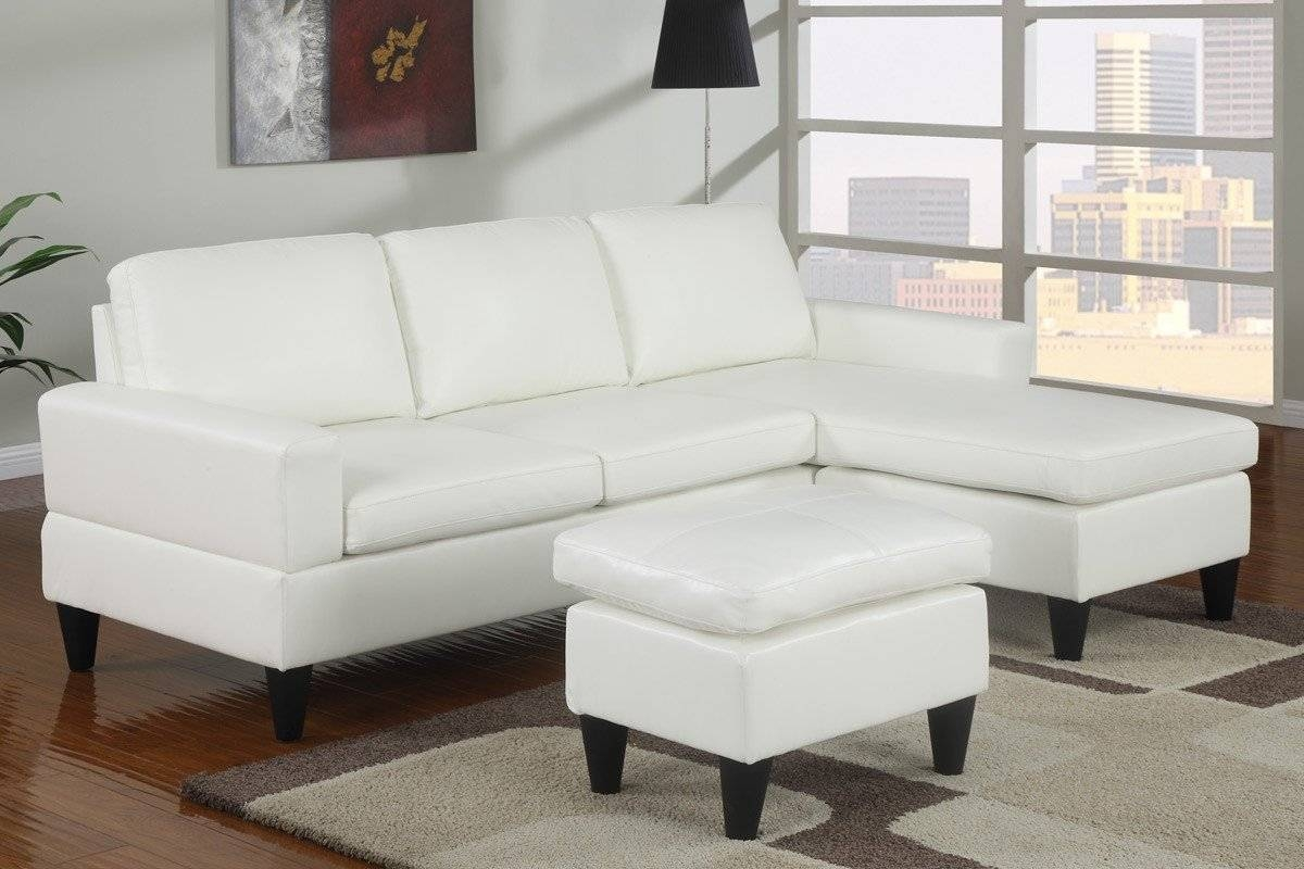 Above Is A Small White Leather Sectional Sofa - S3Net - Sectional pertaining to White Leather Sofas (Image 3 of 30)