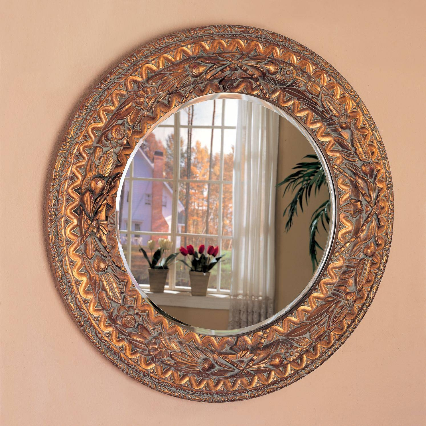 Accent Mirror for Ornate Round Mirrors (Image 5 of 25)