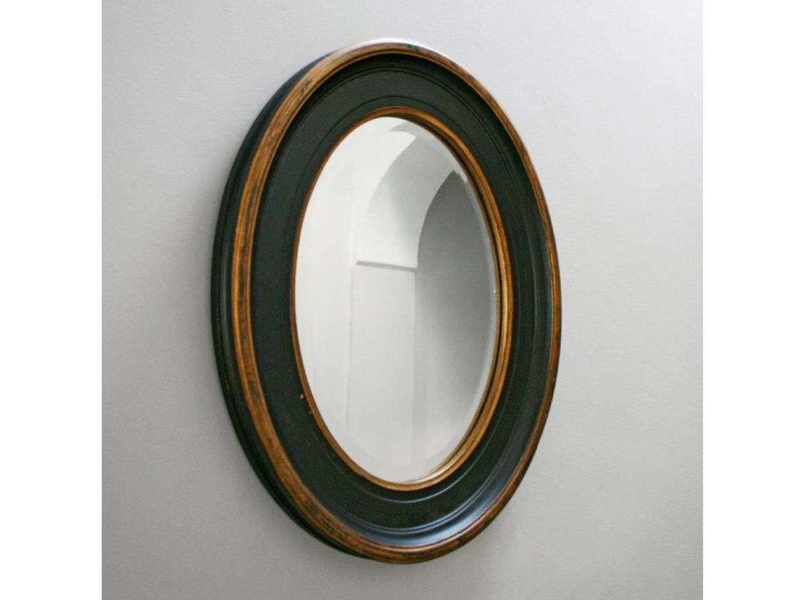 Accessories: Endearing Image Of Accessories For Bathroom Wall in Black Oval Wall Mirrors (Image 1 of 25)
