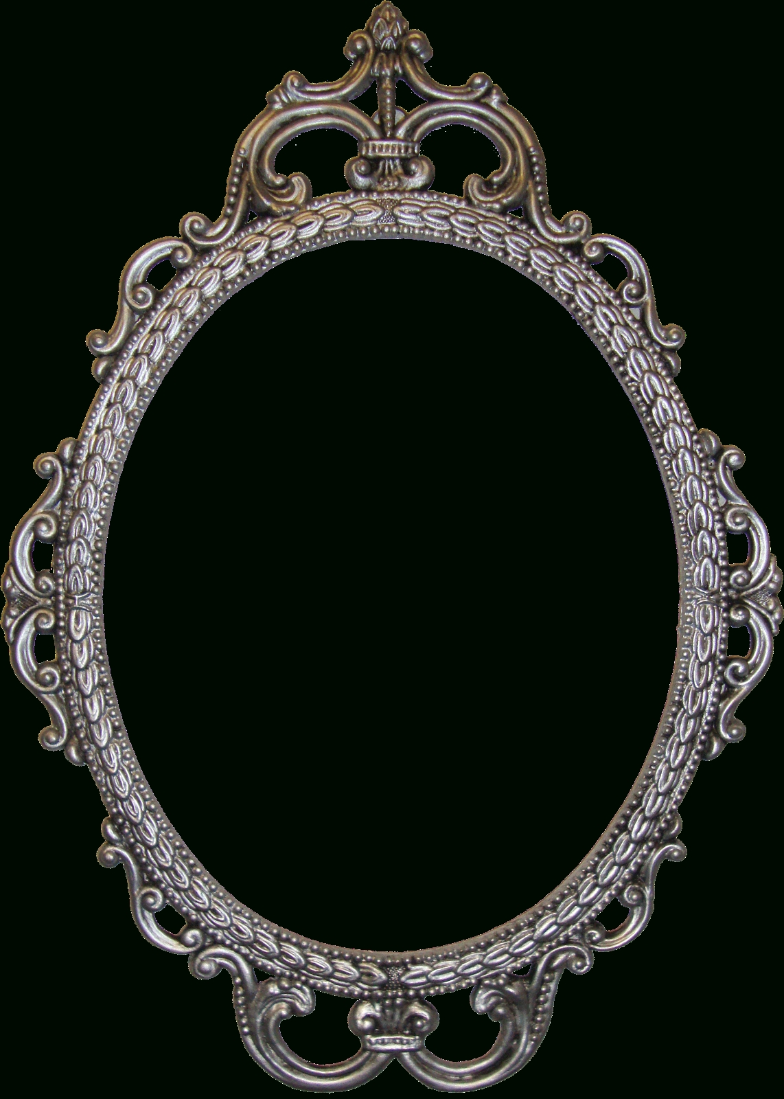 Accessories: Fair Picture Of Vintage Chic Ornate Silver Metallic regarding Ornate Oval Mirrors (Image 2 of 25)