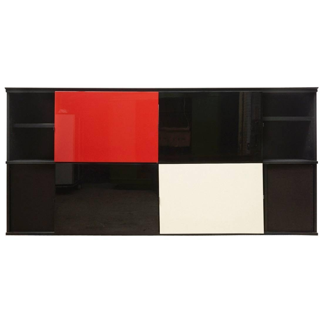 Acerbis 1980S Sideboard Designedlodovico Acerbis And Giotto regarding High Gloss Black Sideboards (Image 2 of 30)
