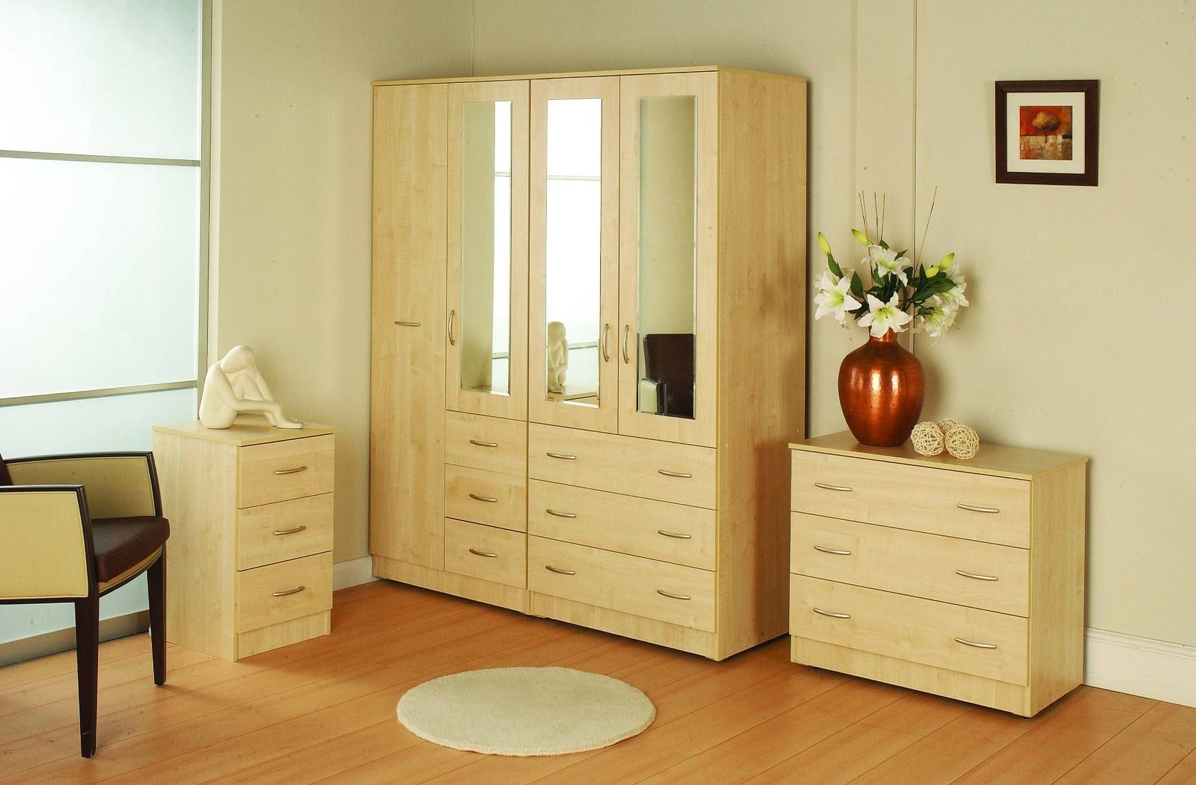 Adams Furniture Store - Bedroom for Wardrobes Chest of Drawers Combination (Image 1 of 15)