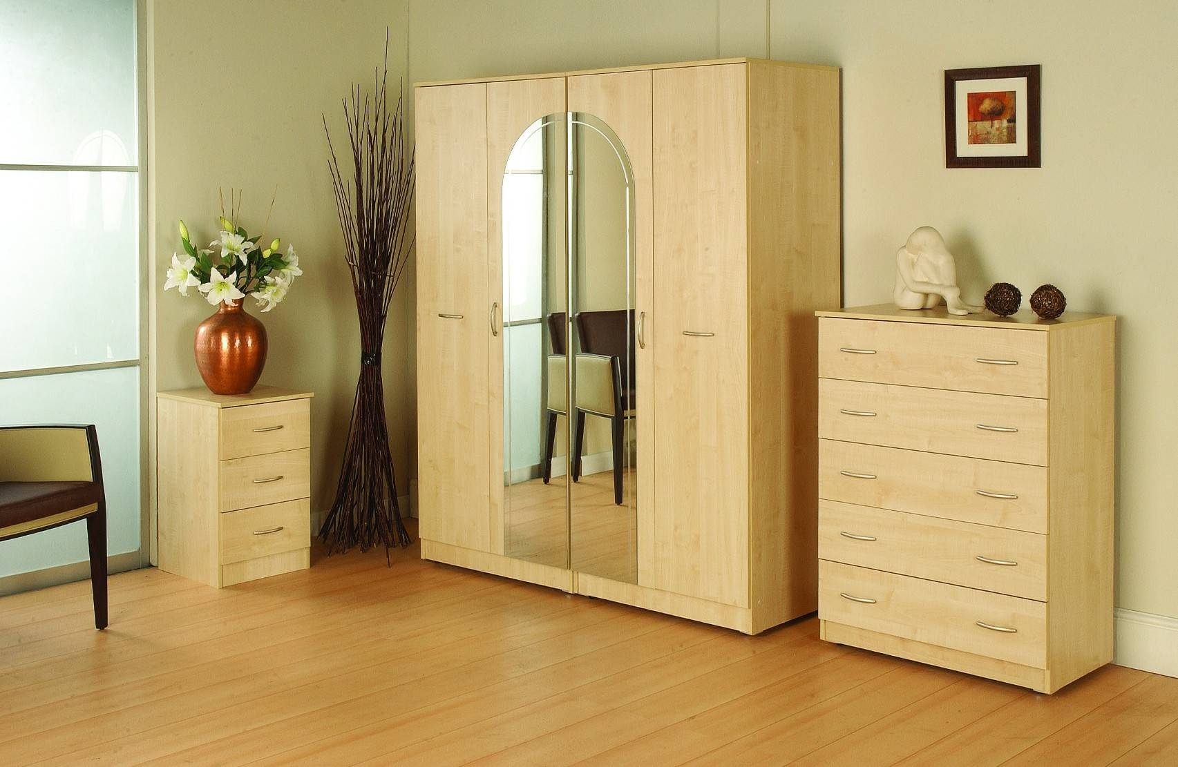 Adams Furniture Store – Bedroom In Wardrobes And Chest Of Drawers Combined (View 12 of 15)