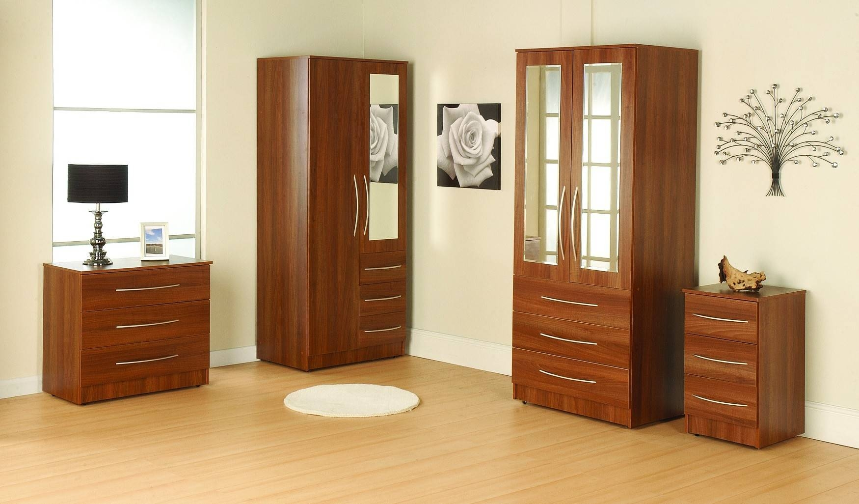 Featured Photo of Chest Of Drawers Wardrobes Combination