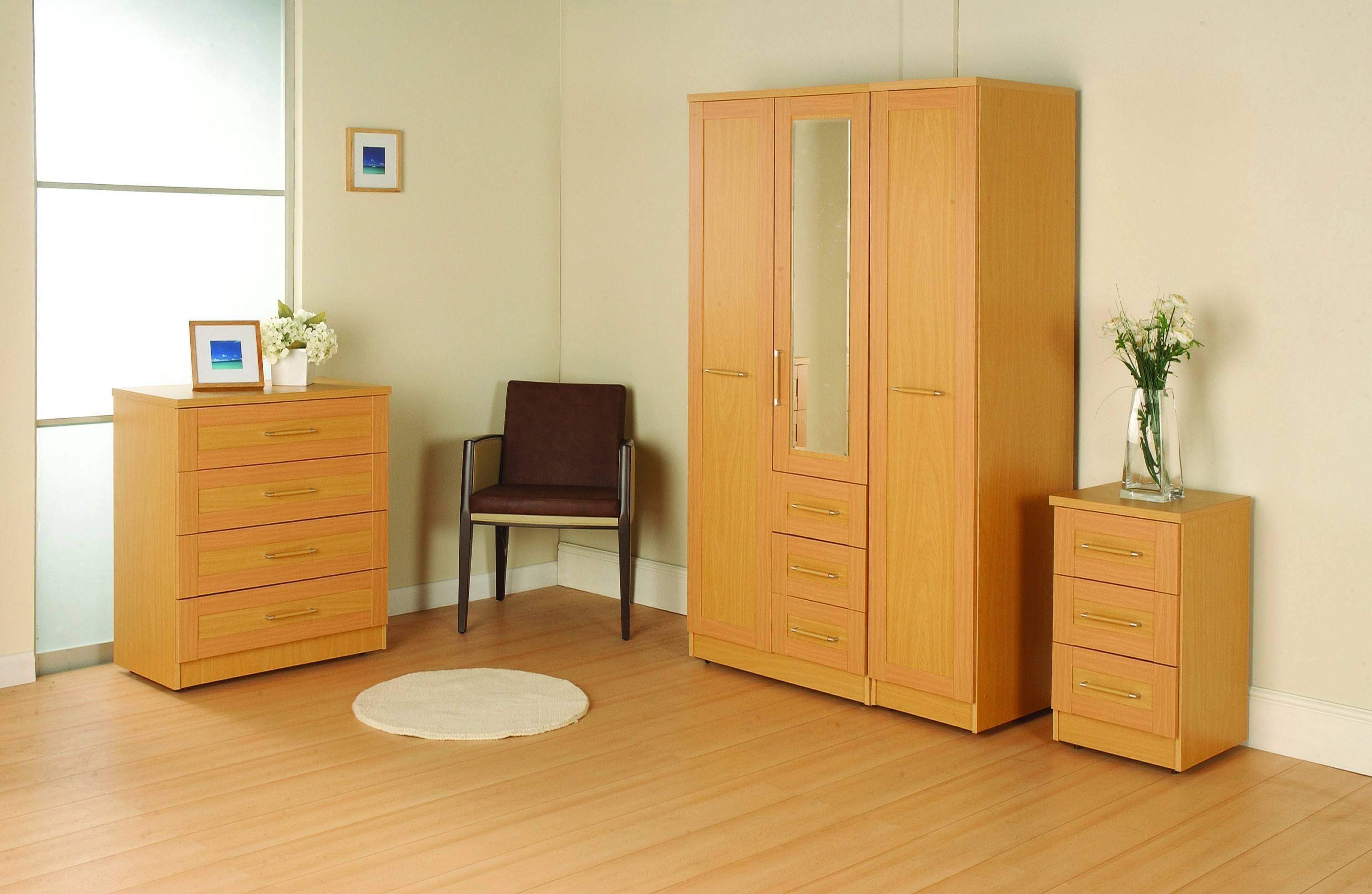 Adams Furniture Store - Bedroom with Wardrobes Chest of Drawers Combination (Image 3 of 15)