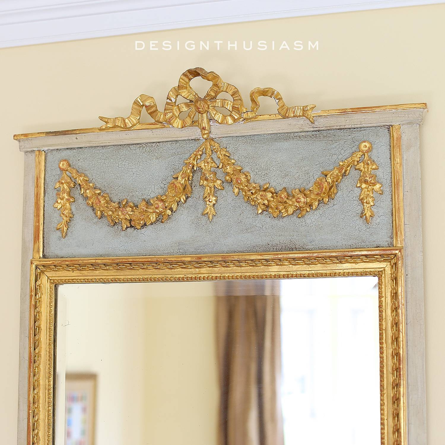 Adding French Country Charm With Gilded Mirrors throughout French Mirrors (Image 8 of 25)