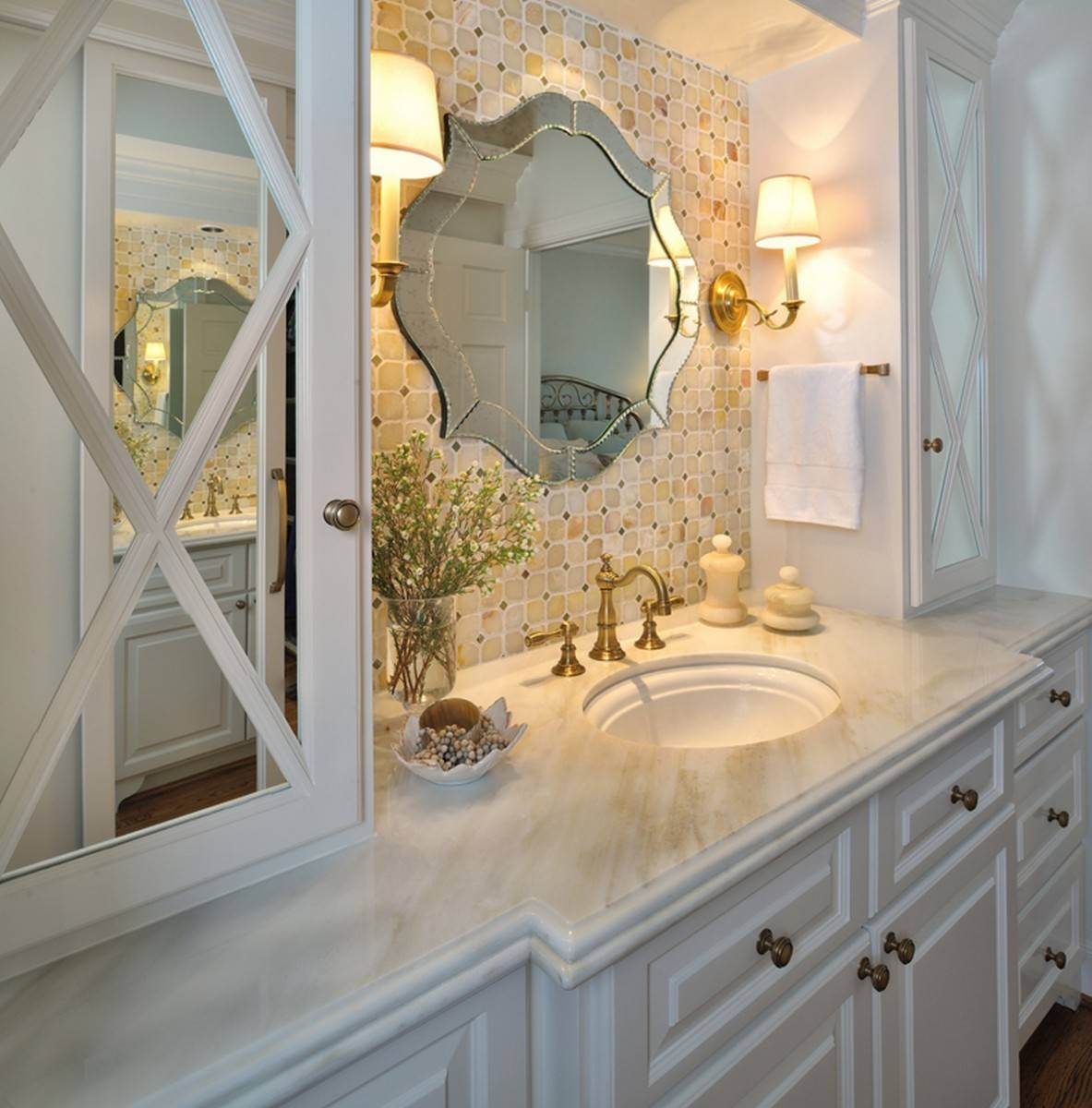Adding Visual Interest With Unique Mirrors In Bathrooms regarding Unique Mirrors (Image 7 of 25)