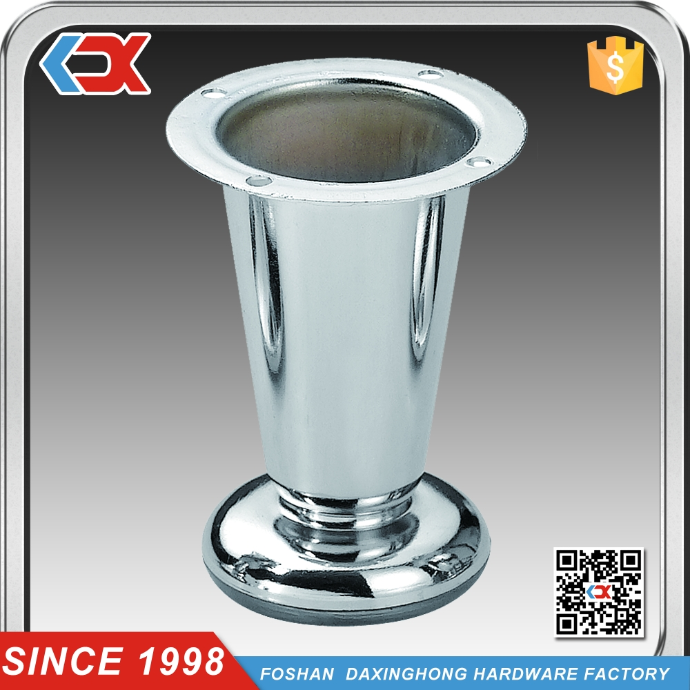 Adjustable Chrome Sofa Legs Metal Adjustable Furniture Legs Bed inside Adjustable Sofa Legs (Image 4 of 30)