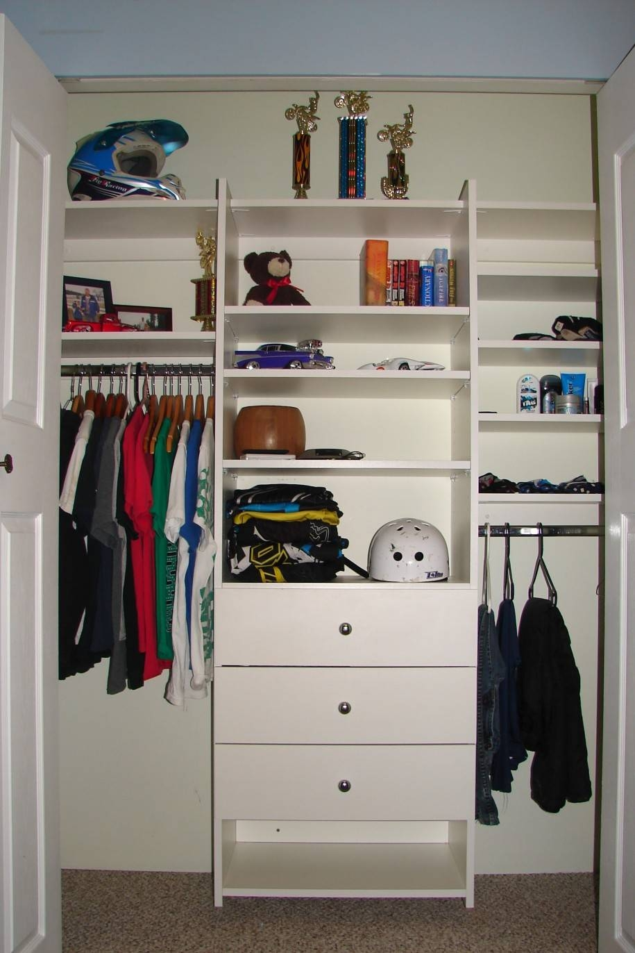 Adorable Closet System With Neatly Open Wardrobe Organize And with Childrens Wardrobes With Drawers And Shelves (Image 1 of 30)