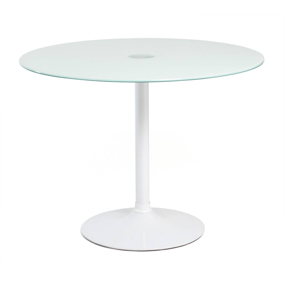 Aeon Furniture, Aeon Furniture, Elena Round Glass Dining Table in Elena Coffee Tables (Image 2 of 30)