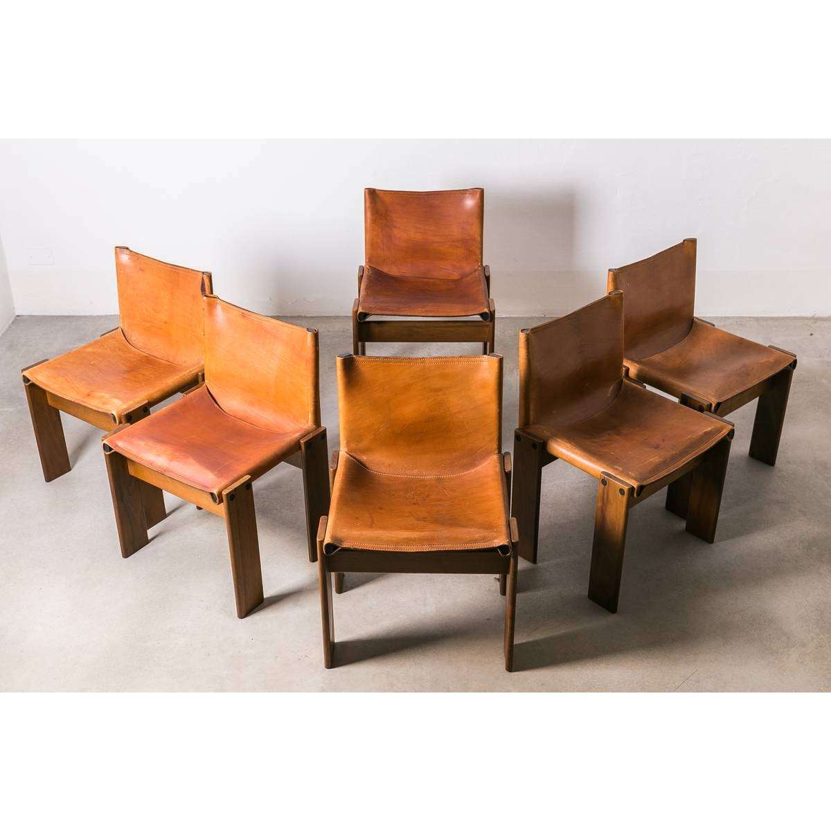"Afra & Tobia Scarpa ""monk"" Chair - Molteni inside Monk Chairs (Image 1 of 30)"
