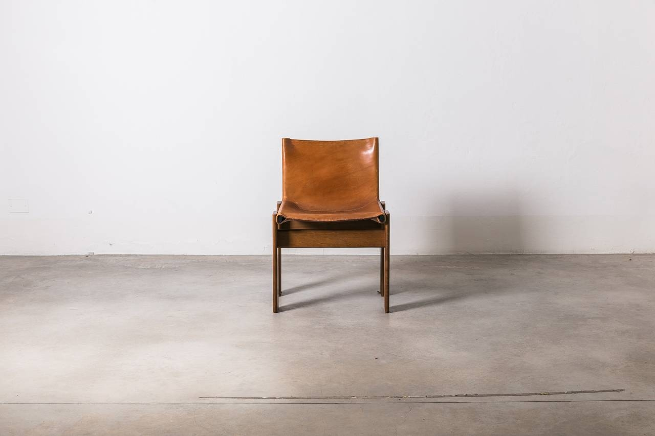 "Afra & Tobia Scarpa ""monk"" Chair - Molteni throughout Monk Chairs (Image 2 of 30)"