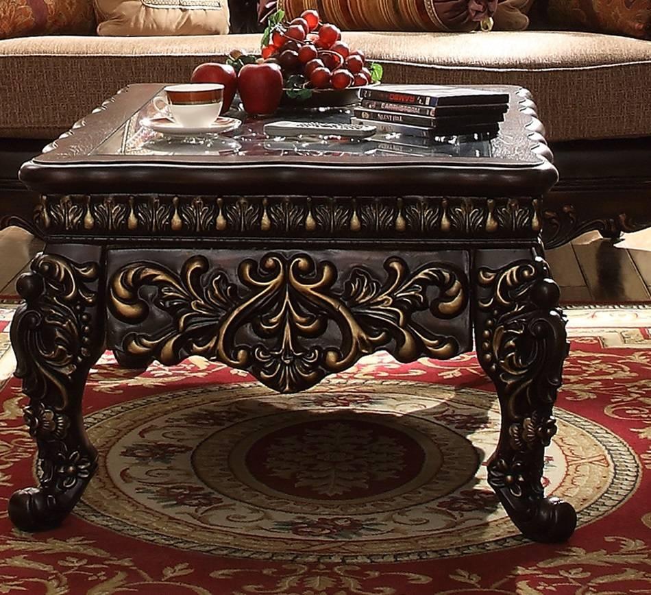 Aico Furniture Coffee Table Carolina Rustica Paradisio Ai 612 / Thippo inside Torino Coffee Tables (Image 4 of 30)