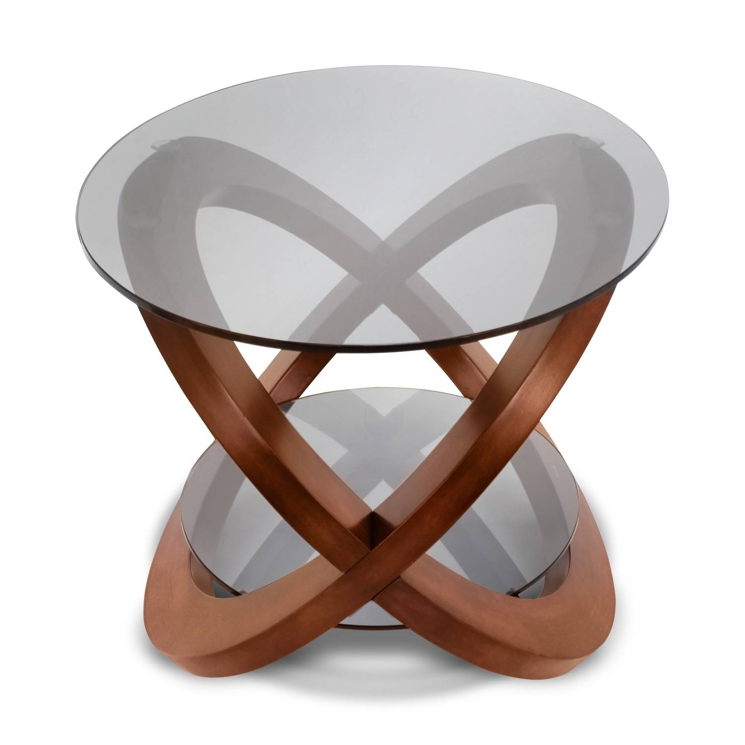 Aiden Coffee Table - Walnut | Value City Furniture for Aiden Coffee Tables (Image 4 of 30)