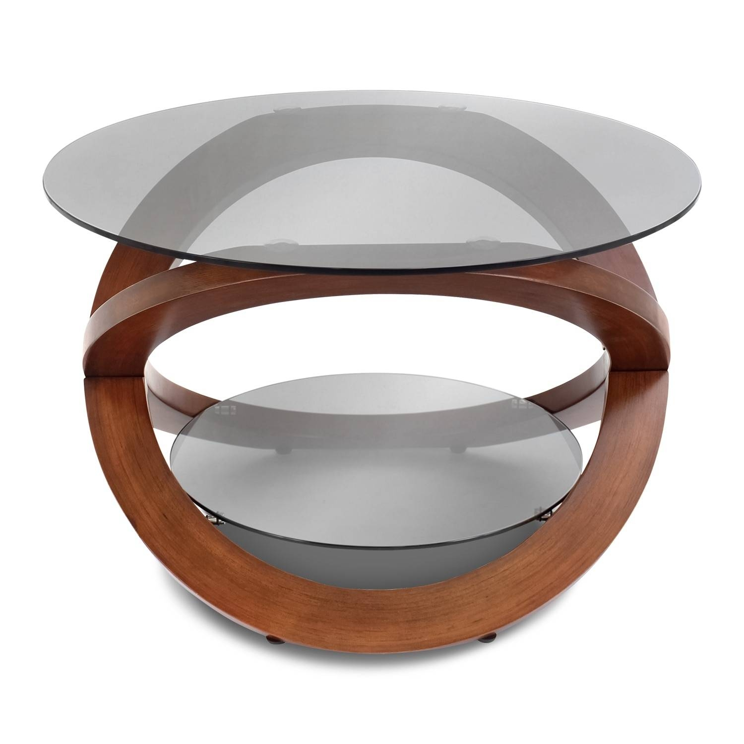 Aiden Coffee Table - Walnut | Value City Furniture with Aiden Coffee Tables (Image 5 of 30)