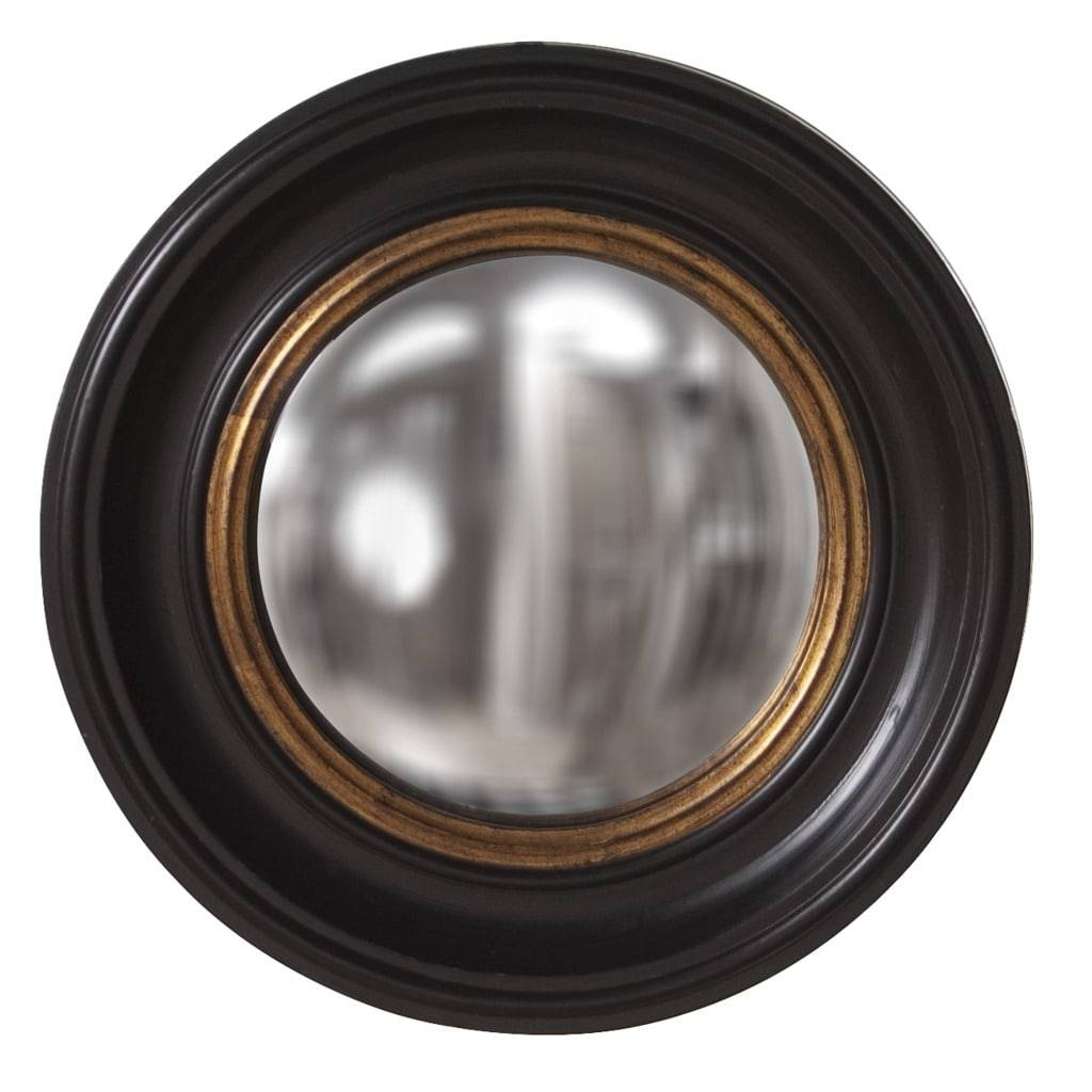 Albert Convex Black Mirror - Free Shipping Today - Overstock for Black Convex Mirrors (Image 1 of 25)