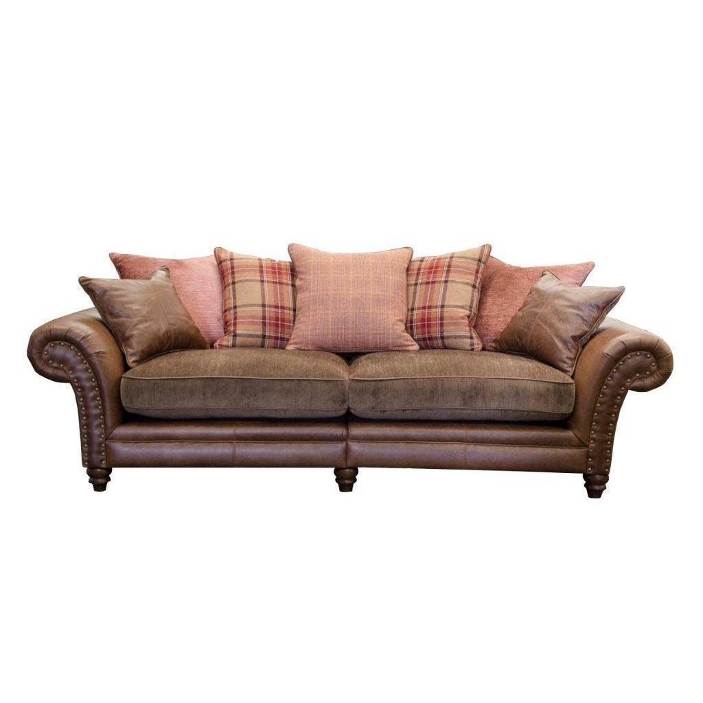 Alexander & James Hudson 4 Seater Sofa | Cardiff, Swansea, Bridgend For 4 Seat Leather Sofas (View 24 of 30)
