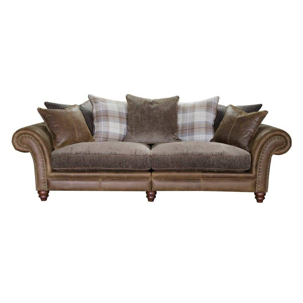 Alexander & James Hudson 4 Seater Sofa | Cardiff, Swansea, Bridgend inside Four Seater Sofas (Image 2 of 30)
