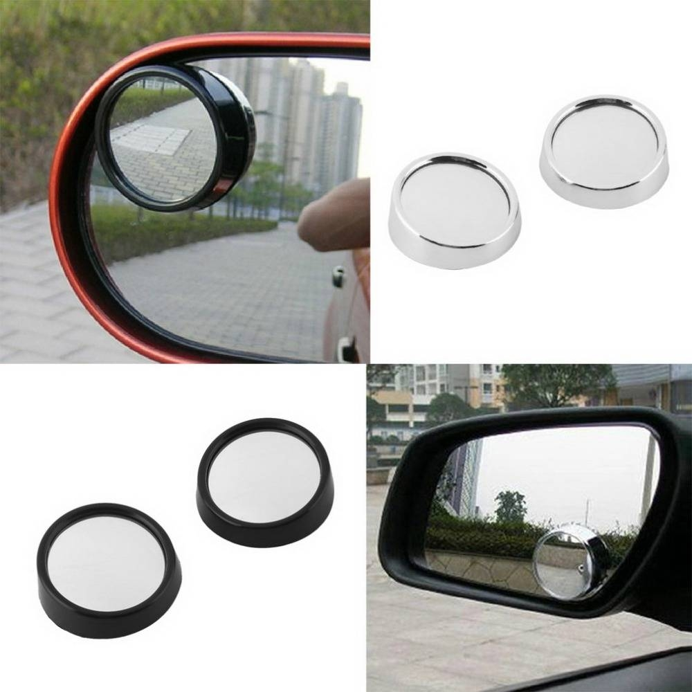 Aliexpress : Buy 2 Pcs Car Vehicle Blind Spot Dead Zone Mirror Throughout Small Convex Mirrors (View 3 of 25)