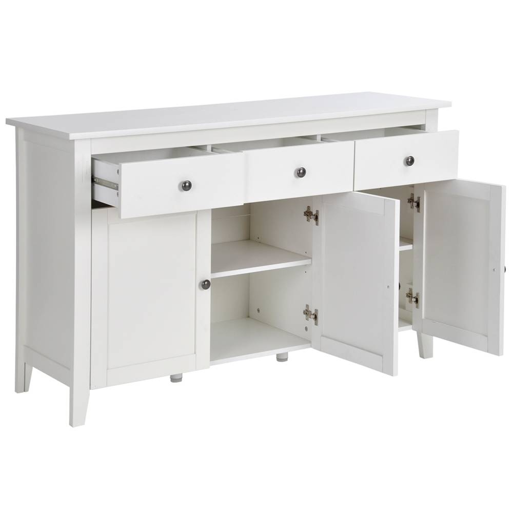 Aliexpress : Buy Aingoo Large Space White Minimalist Modern within Large Modern Sideboards (Image 3 of 30)