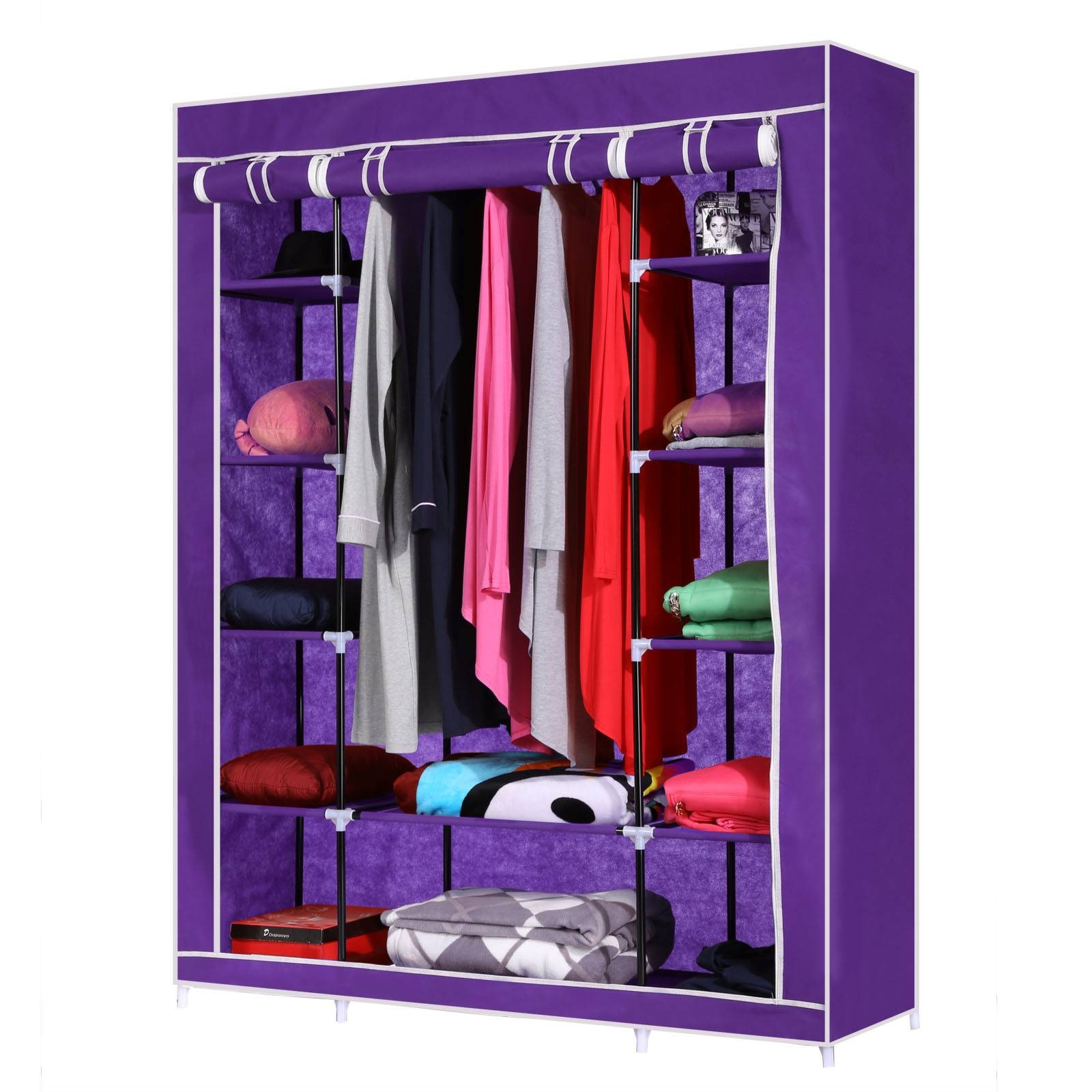 Aliexpress : Buy Homdox Non Woven Wardrobe Combination throughout Cheap Double Wardrobes (Image 1 of 15)