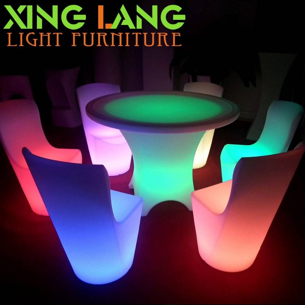 Aliexpress : Buy Wholesale Led Wine Tables/fashionable Rgb regarding Led Coffee Tables (Image 2 of 30)