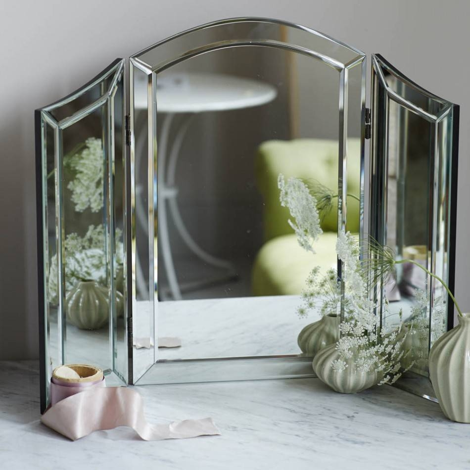Alina Dressing Table Mirror | Mirrors | Graham And Green within Dressing Table Mirrors (Image 1 of 25)