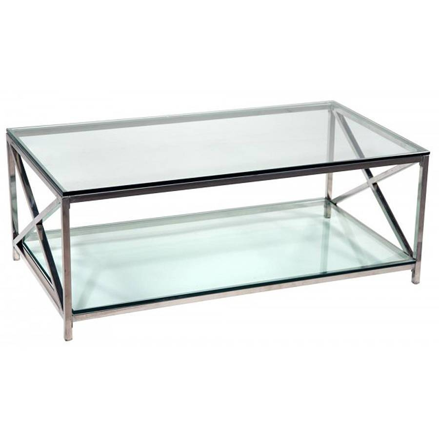 All You Need To Know About Glass And Chrome Coffee Tables for Glass Chrome Coffee Tables (Image 1 of 30)