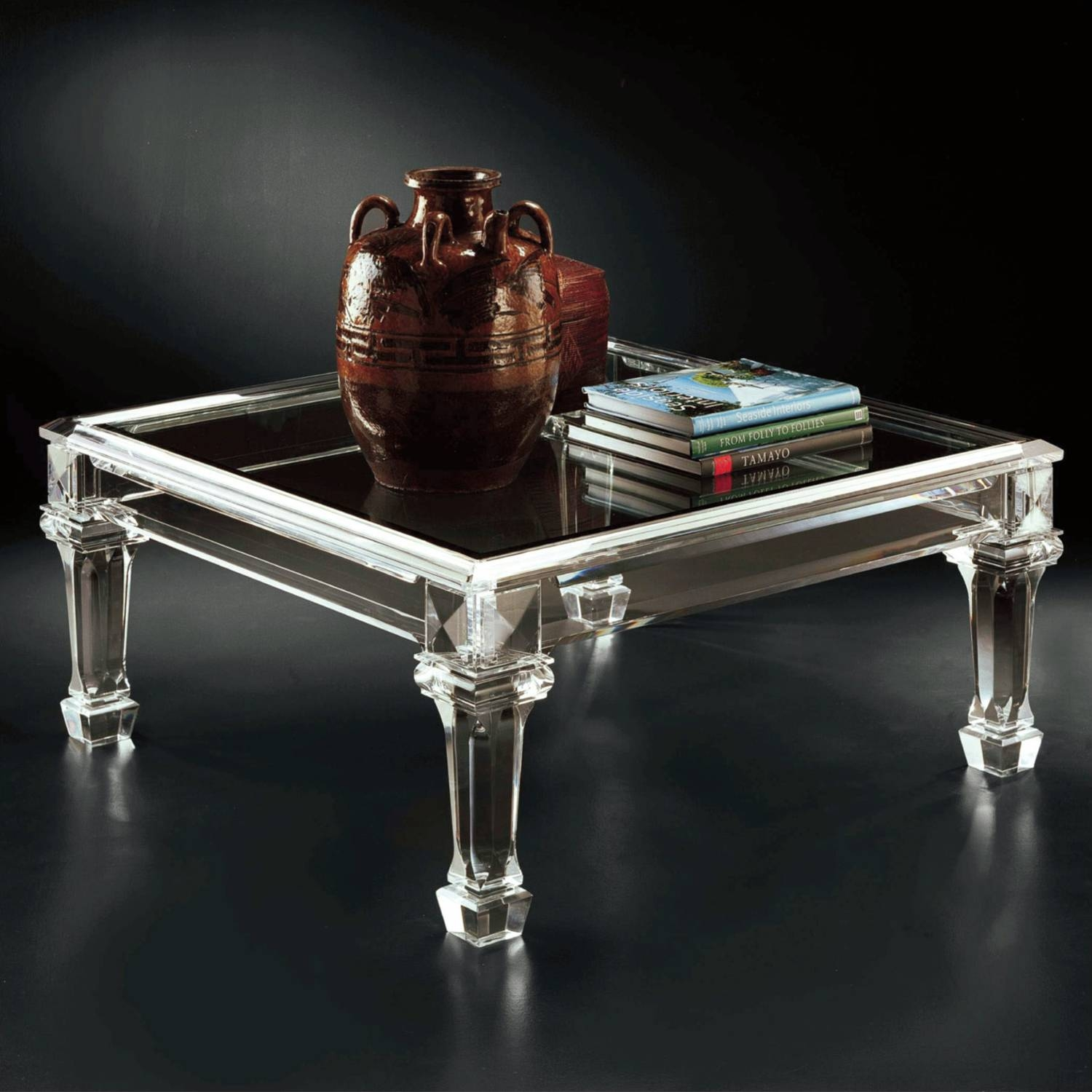 Allan Knightacrylic | Cocktail Tables | Bordeaux Cocktail Table regarding Bordeaux Coffee Tables (Image 2 of 30)