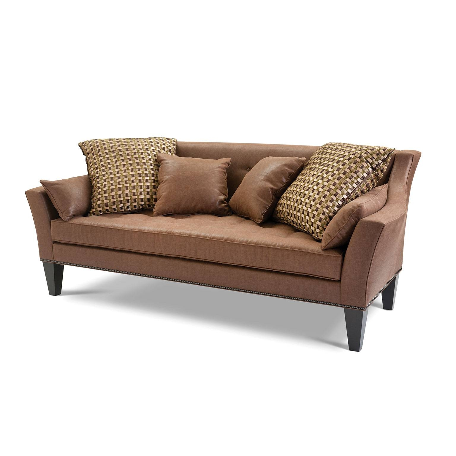 Allan Knightupholstery | Sofas And Sectionals | Palm Beach Sofa On throughout Wood Legs Sofas (Image 2 of 30)