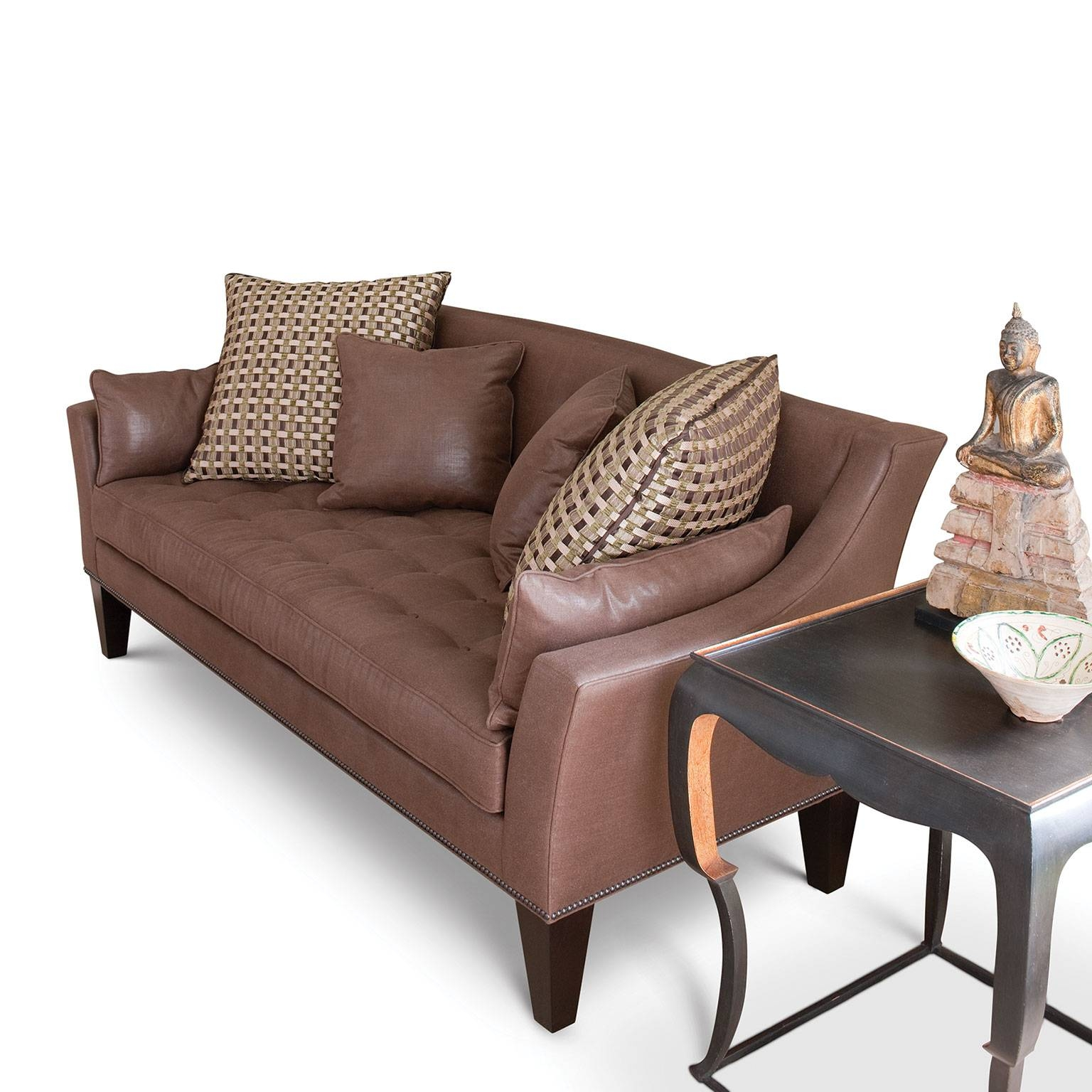 Allan Knightupholstery | Sofas And Sectionals | Palm Beach Sofa On with Wood Legs Sofas (Image 3 of 30)