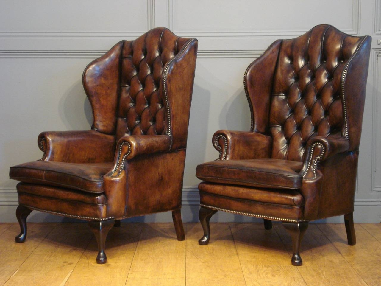 Featured Photo of Vintage Leather Armchairs