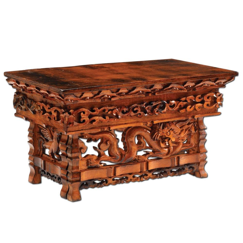 Altar Tables & Chests: Dharmacrafts inside Buddha Coffee Tables (Image 6 of 30)