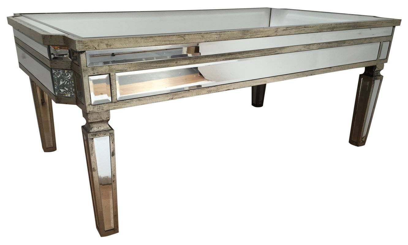 Alterton Vintage Mirrored Coffee Table & Reviews | Wayfair.co.uk with regard to Vintage Mirror Coffee Tables (Image 1 of 30)