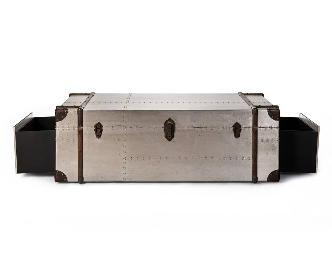 Aluminium Coffee Table - Aluminium Furniture inside Aluminium Coffee Tables (Image 3 of 30)