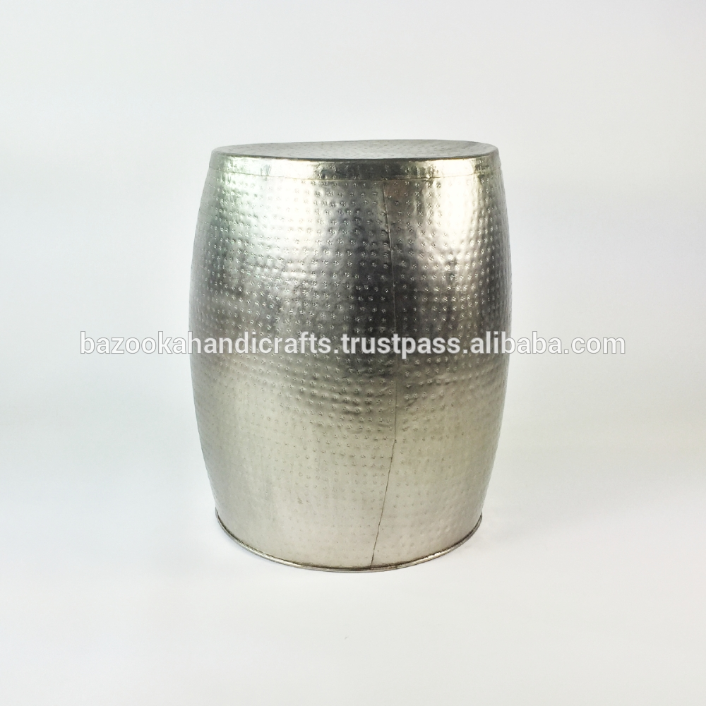 Aluminium Drum Table, Aluminium Drum Table Suppliers And pertaining to Silver Drum Coffee Tables (Image 3 of 30)