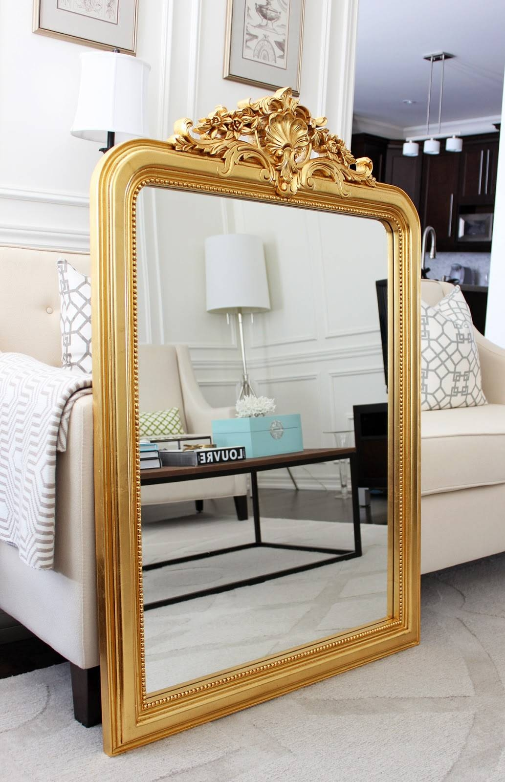 Am Dolce Vita: Solid Gold for Reproduction Antique Mirrors (Image 8 of 25)
