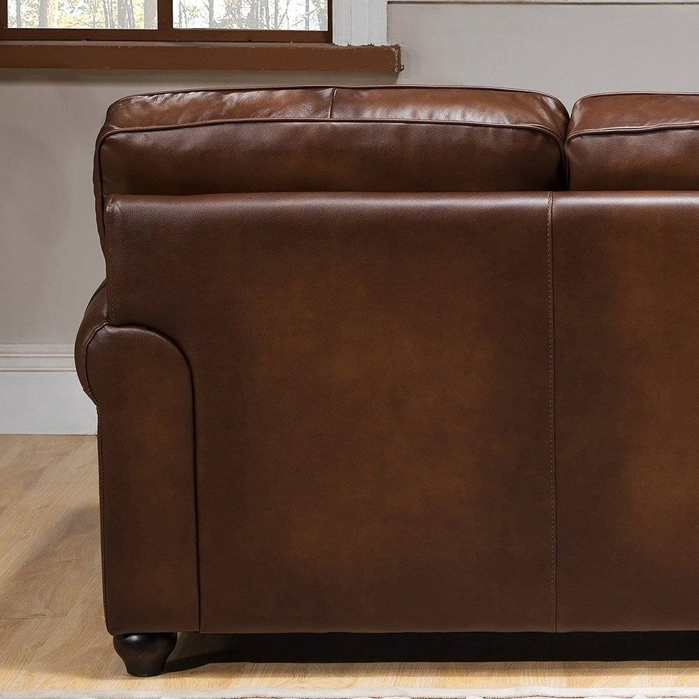 Amax Aspen Leather Sofa And Loveseat Set & Reviews | Wayfair Supply throughout Aspen Leather Sofas (Image 2 of 30)
