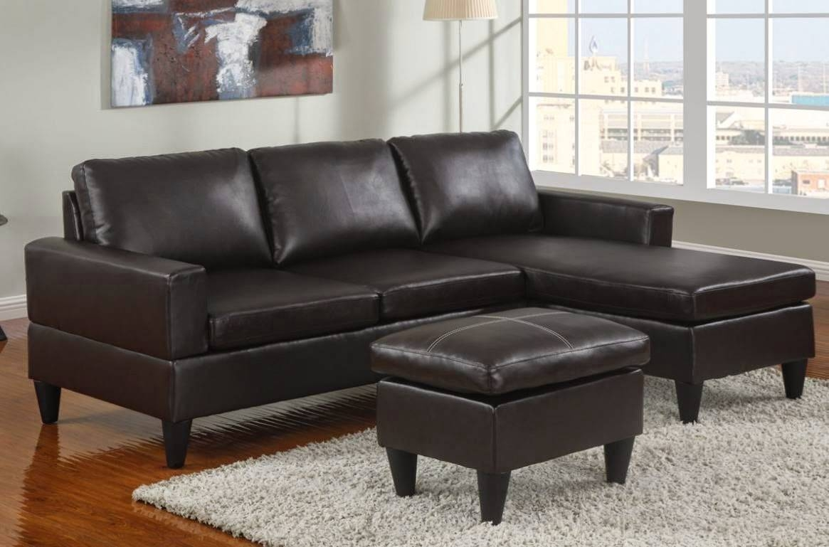 Amazing Apartment Size Sectional Sofa With Chaise 81 With with Bentley Sectional Leather Sofa (Image 5 of 30)