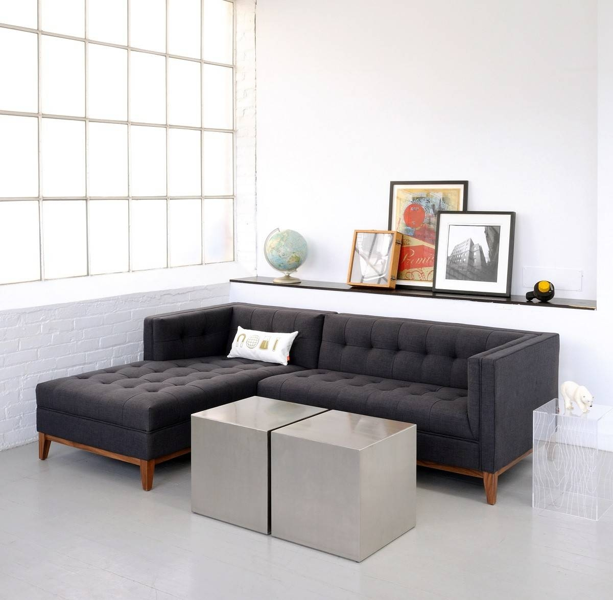 Amazing Apartment Size Sectional Sofa With Chaise 81 With with regard to Bentley Sectional Leather Sofa (Image 6 of 30)