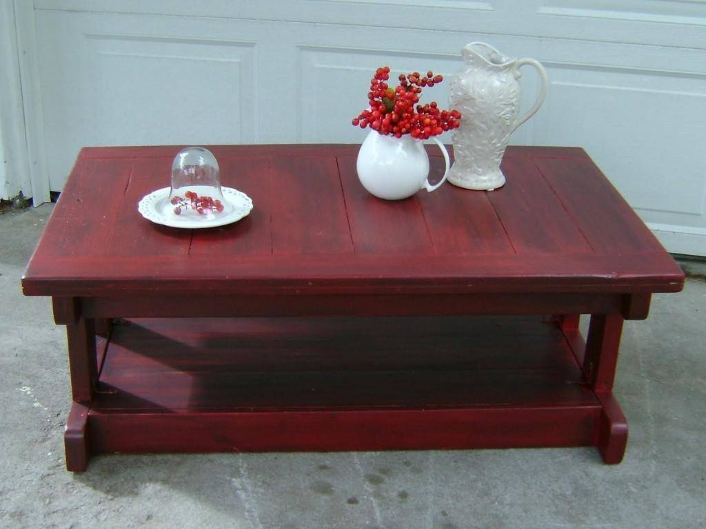 Featured Photo of Red Coffee Table