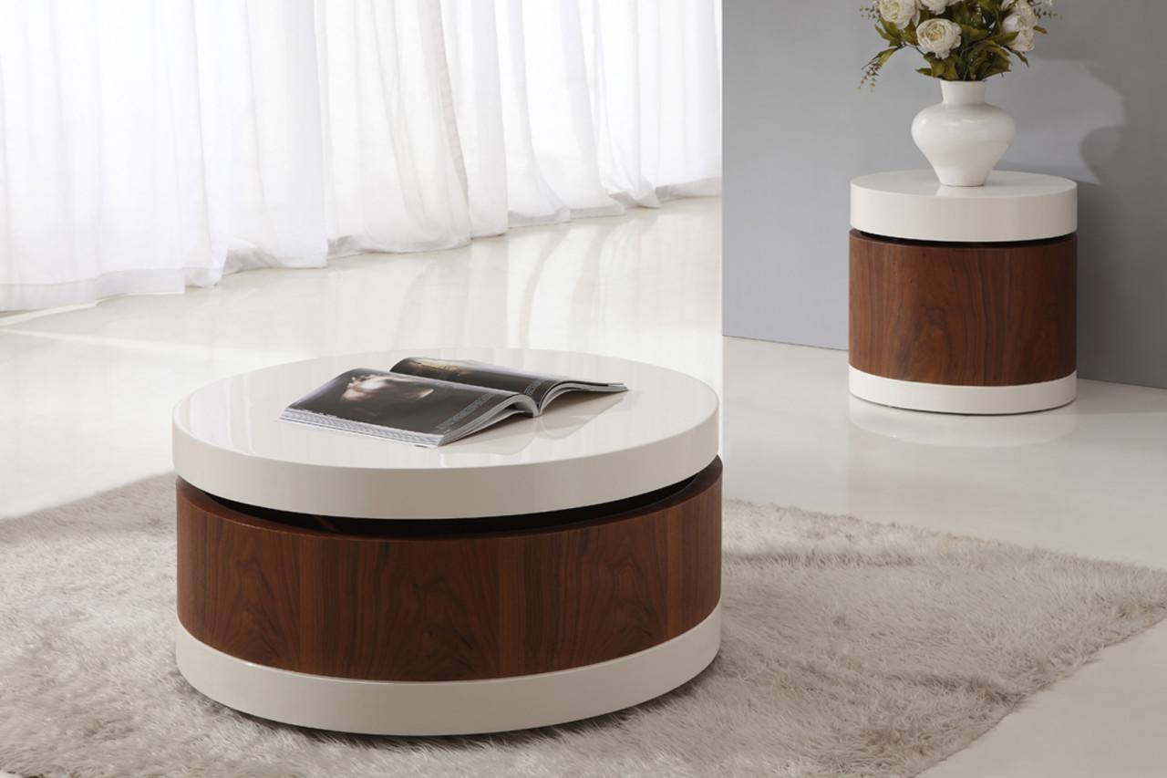 Amazing Of Contemporary Round Coffee Table With Coffee Table Tema inside Contemporary Coffee Table (Image 3 of 30)