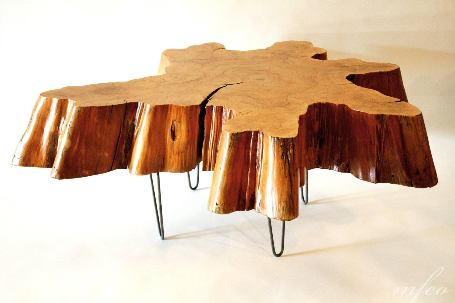 Amazing Tree Trunk Coffee Table Design Ideas – Tree Stump Side for Stainless Steel Trunk Coffee Tables (Image 1 of 30)