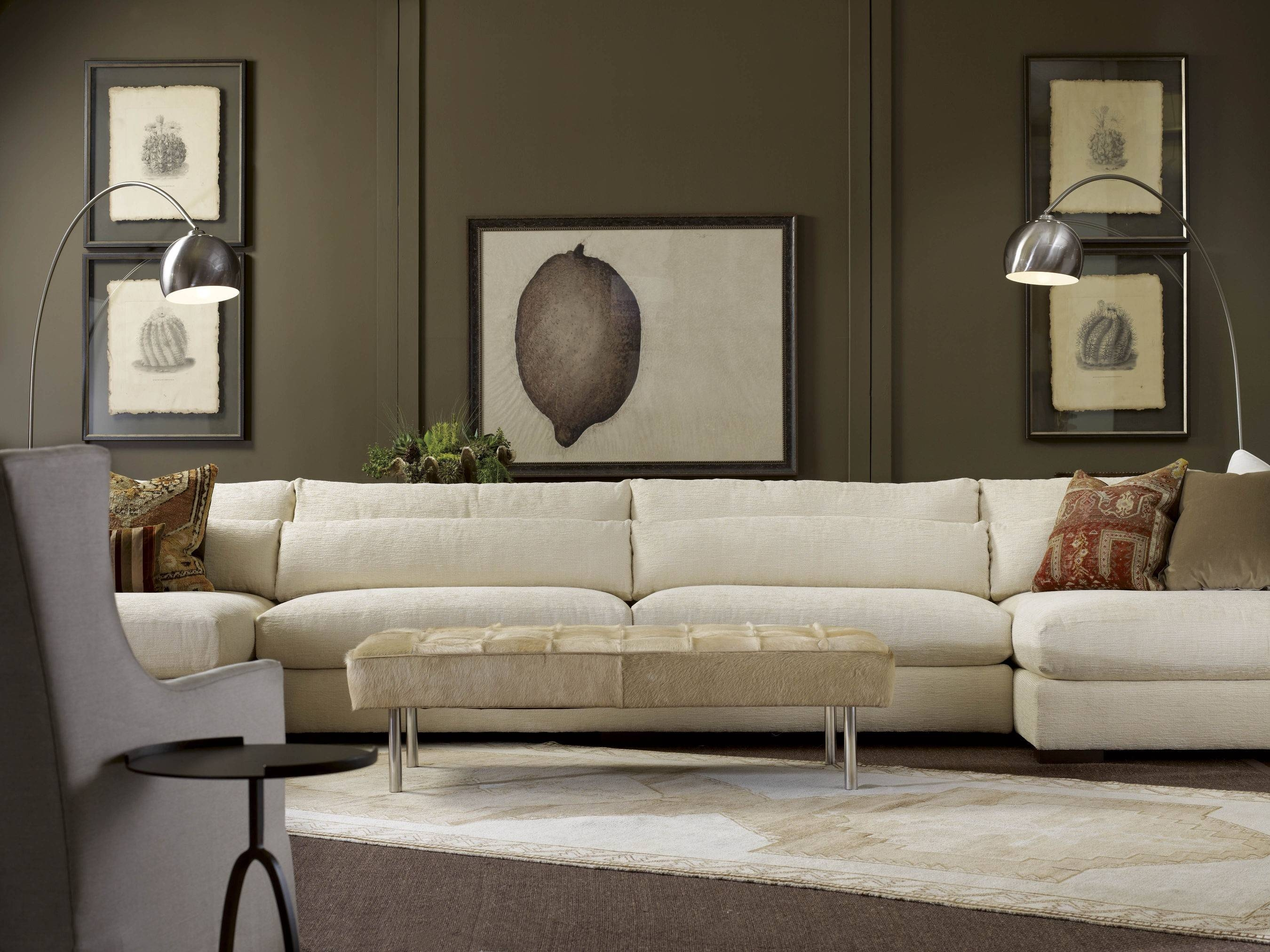 American Furniture | Menlo Park Double Sectional | Lee Industries intended for Lee Industries Sectional Sofa (Image 2 of 25)
