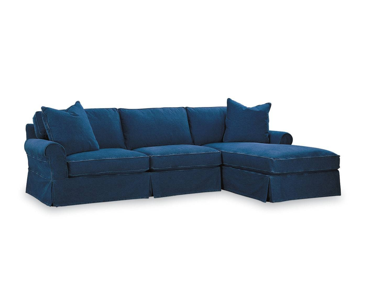 American Furniture | Nantucket Chaise Sectional | Lee Industries within Lee Industries Sectional Sofa (Image 3 of 25)