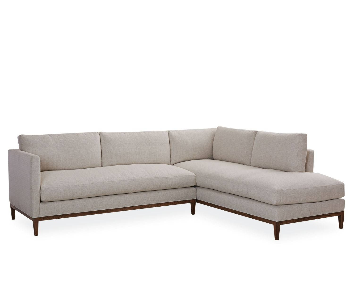 American Furniture | Palm Springs Chaise Sectional | Lee Industries within Lee Industries Sectional Sofa (Image 8 of 25)