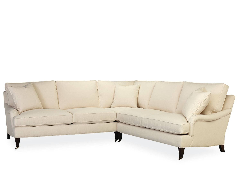 American Furniture | Savannah L Sectional | Lee Industries for Lee Industries Sectional Sofa (Image 9 of 25)